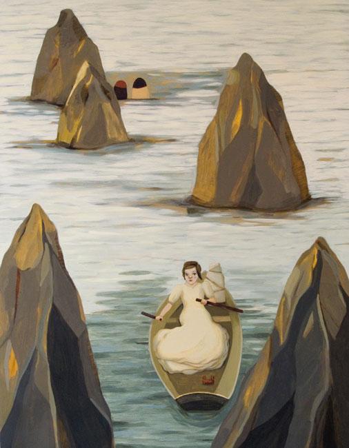 The Oarswoman by Camilla Engman
